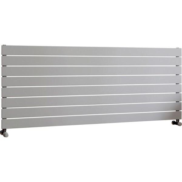 Balts vertikālais radiators 1800x595 5
