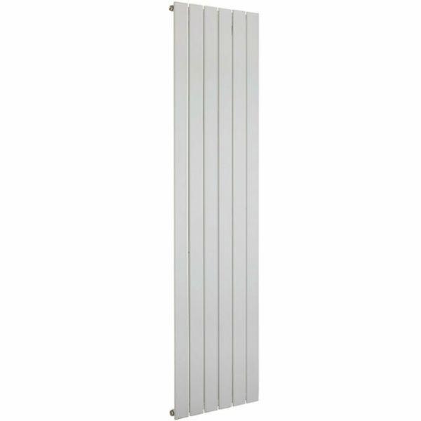 Balts vertikālais radiators 1800x595 1