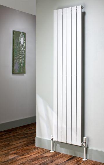 Balts vertikālais radiators 1800x595 4
