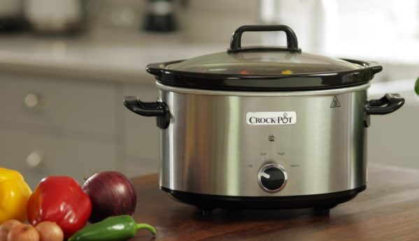 Crock Pot Traditional Slow Cooker 3.5L lēnvāres katls 1