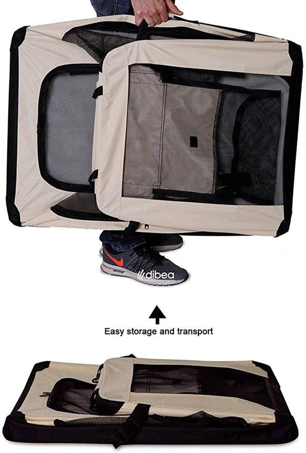 DIBEA TB10044 XXL dzīvnieku transportēšanas soma 4