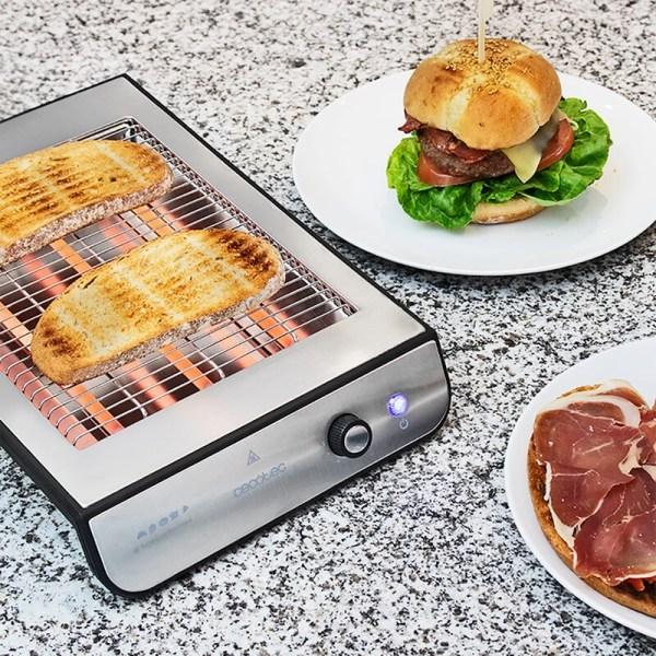 Tosteris Cecotec Turbo Inox EasyToast grills 1