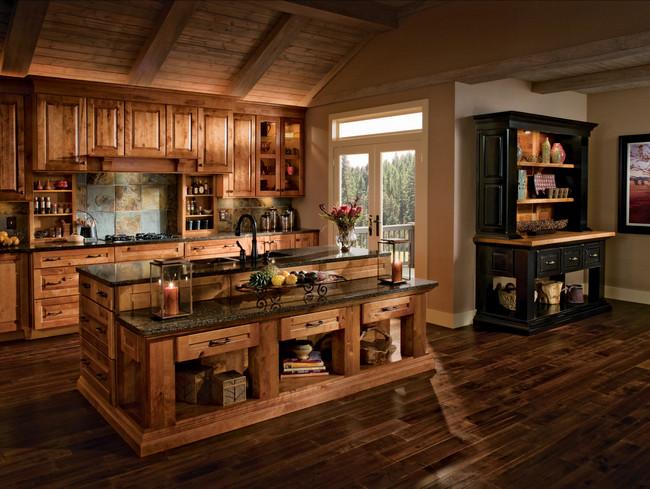 buy modern kitchen cabinets online rubber flooring in rustic birch praline and cherry vintage ...