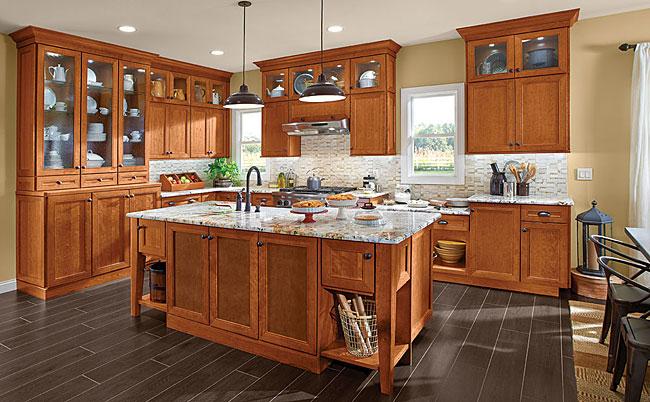 Cherry Kitchen in Praline  KraftMaid