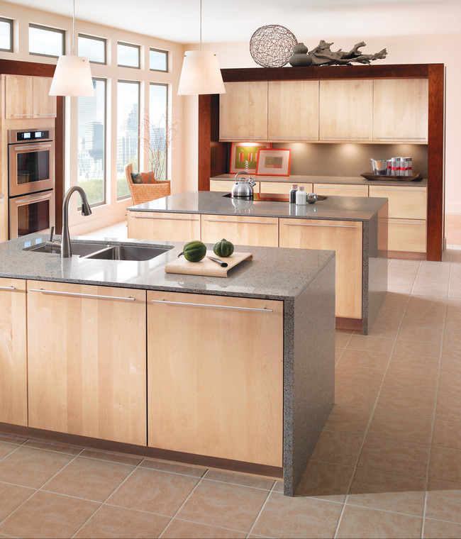 Maple Kitchen in Natural  KraftMaid