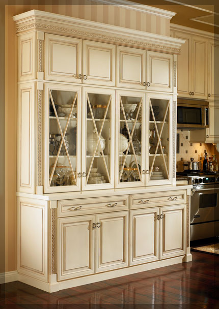 Dining Room Hutches  KraftMaid Cabinetry