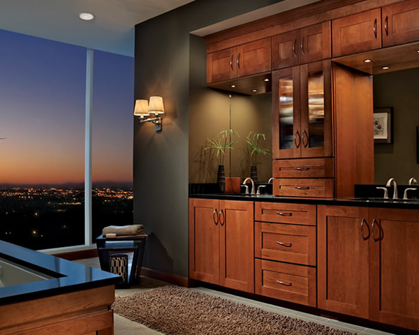Bath Collections  Master Suite  KraftMaid Cabinetry