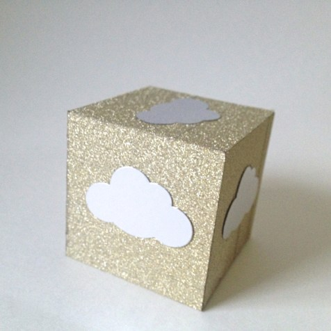 Sparkly Paper Weight from kraftmint.com