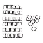 These are paper clips! Square paper clips. My brain is exploding with ideas on how to use these.