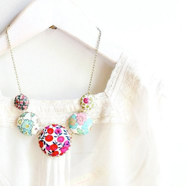 Friday Finds - Floral post - Liberty Necklace