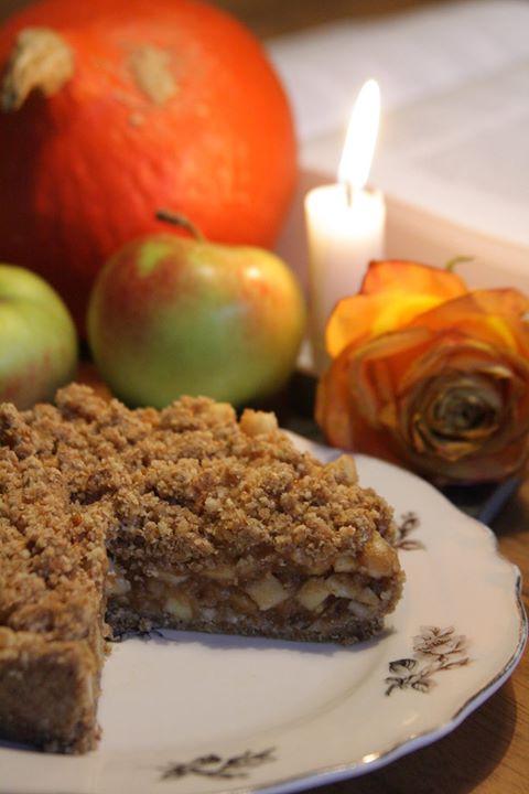 Blogparade: Nussfreier Apfelkuchen