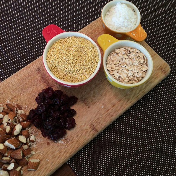 millet granola ingredients