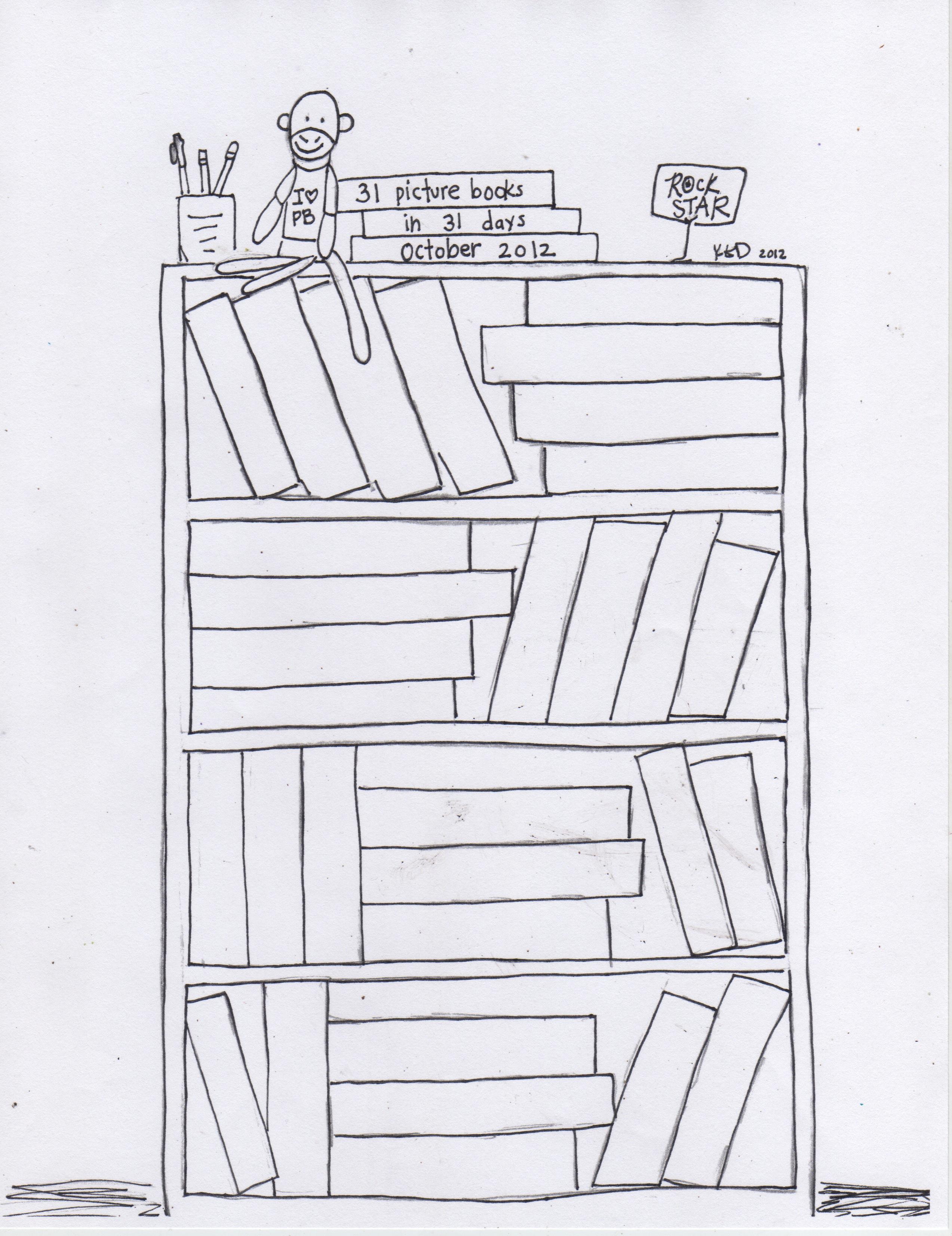 Book shelf ideas for a digital reader : books