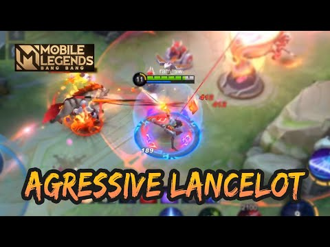 AGRESSIVE LANCELOTTTTTT 🔥🔥🔥🔥🔥🔥 | GAMEPLAY #81 | MOBILE LEGENDS BANG BANG