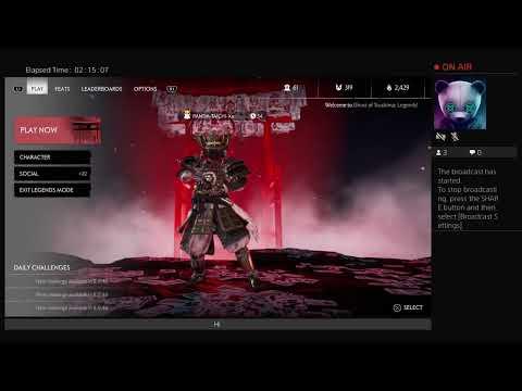 Прямая трансляция PANDA-TAICHI-Xx на PS4