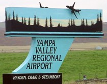 yampa-airport-sign