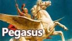 Пегаз, крилестиот митски коњ, симбол на поетската инспирација