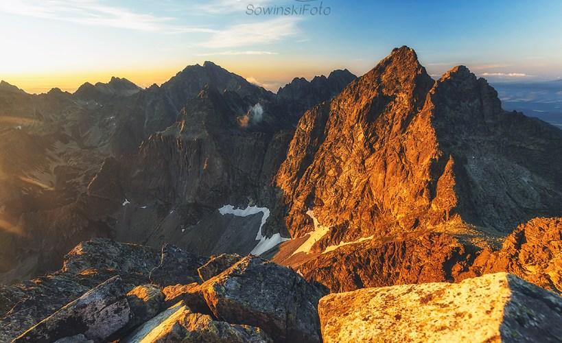 Rysy krajobraz góry