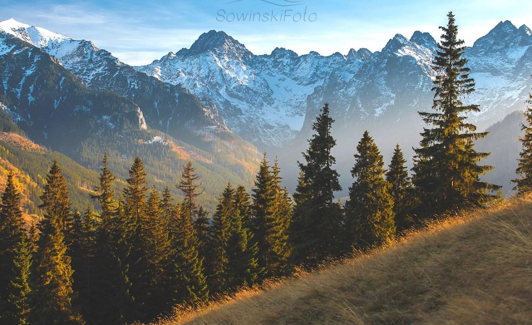 Rusinowa polana Góry