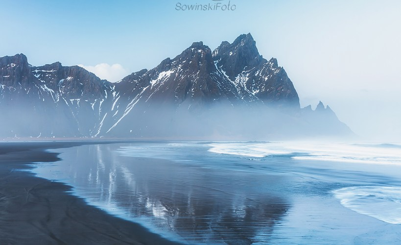 Islandia krajobraz plaża