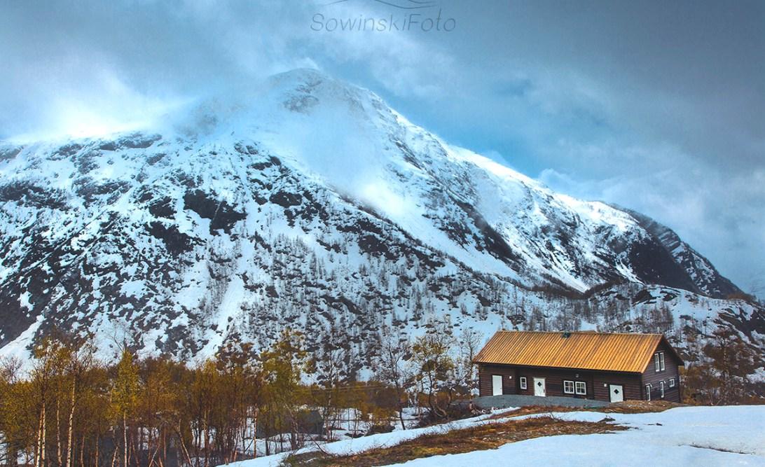 Norwegia krajobraz góry