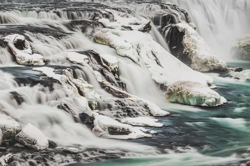 Islandia rzeka zdjęcie na płótnie