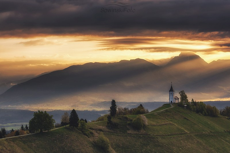 Słowenia Alpy krajobraz