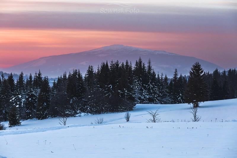 Babia Góra zdjęcie druk