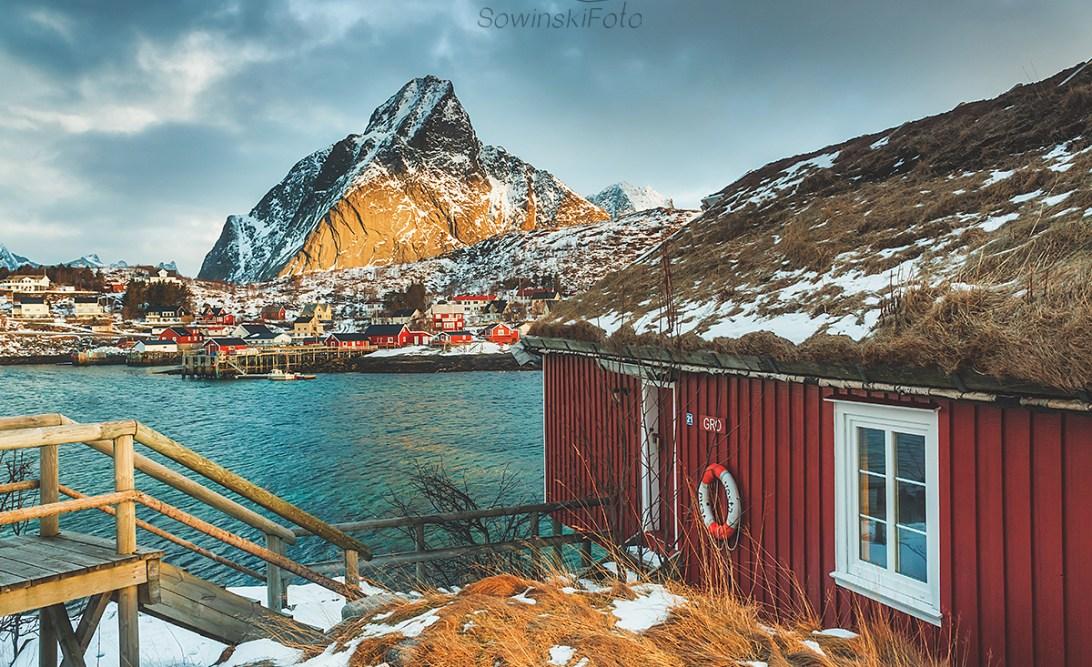 Krajobraz Norwegia zdjęcie