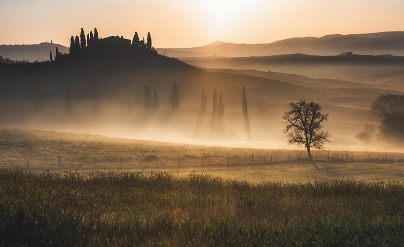 Toskania zdjęcie duża rozdzielczość