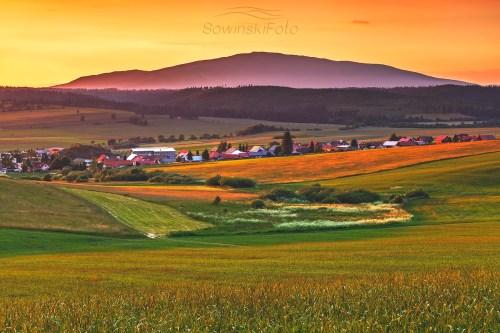 Krajobraz Babia Góra Słowacja