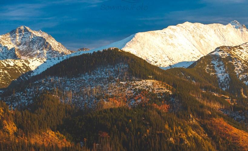 Krajobraz góry Rusinowa