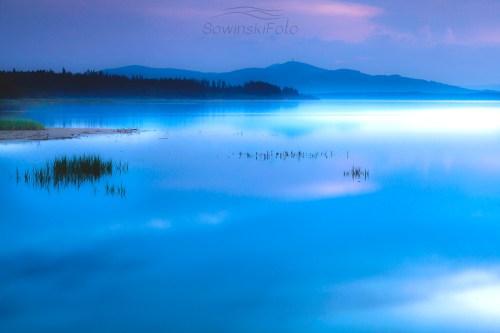 Jezioro Orawskie krajobraz na ścianę