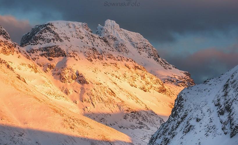 Krajobraz Górski Lofoty