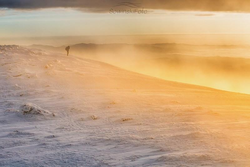 Zima na Babiej Górze
