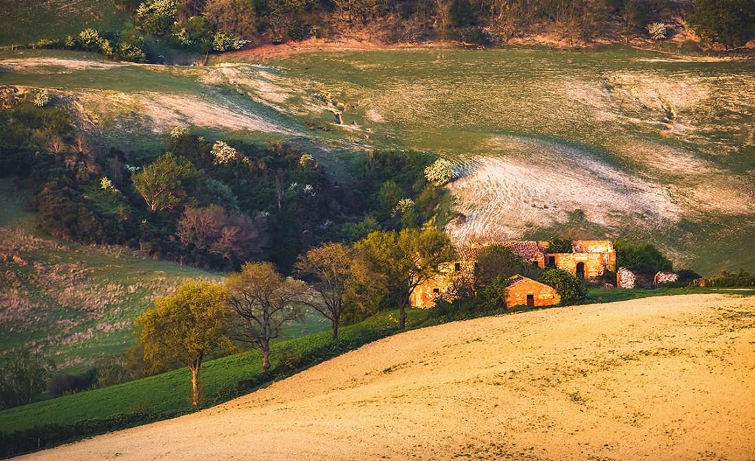 Toskania zdjęcie krajobrazu