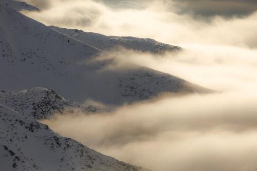 Tatry w chmurach