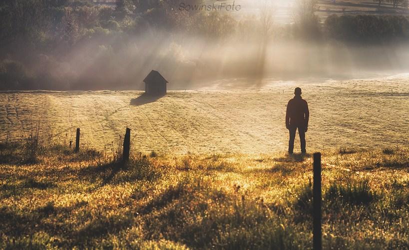 orawskie mgły i człowiek
