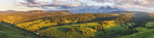 Tatry Bielskie panorama Nad Osturnią