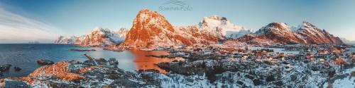 Zimowy dzień /Norwegia