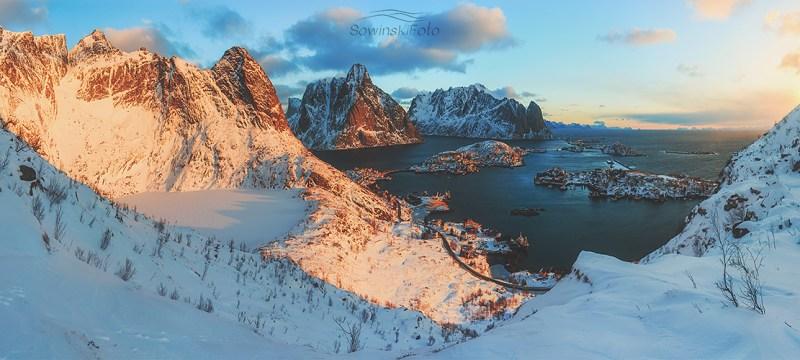 Góry norweskie Z góry /Norwegia