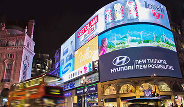 LED screens showcase