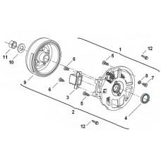 Keeway F-act EVO 50 2T, original parts