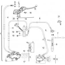 Keeway RKF 125i, original parts