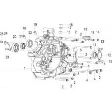 Keeway RKR 125i, original parts