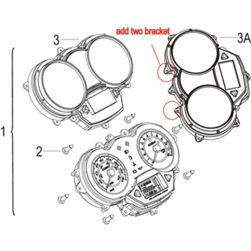 SPEEDOMETER Keeway Silverblade 125 EFI