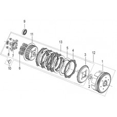 Keeway Superlight 125 EFI, original parts