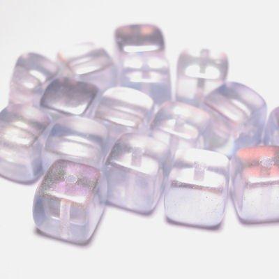 bohemian kubus 7 mm l.blauw