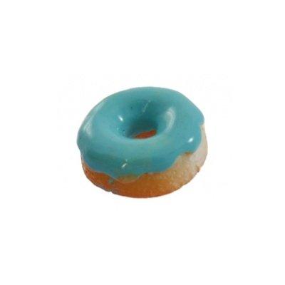 cabochon donut aqua 13 mm