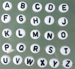 """letterkraal """"J"""""""